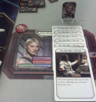 Despite all those Loyalty cards, Gen was not a cylon