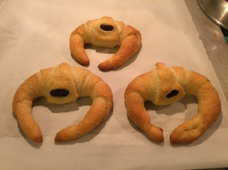 Cylon Raider croissants