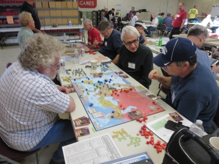 T&T was a popular game. Sandy (left) came all the way from London.