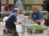 Greg showing 7YW: Frederick's Gamble to Mark Simonitch