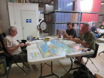 Eric, Matt, and Larry playing Unconditional Surrender