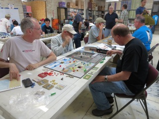 A few games of Churchill were observed