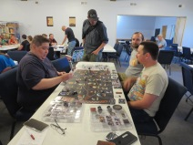 The first game of Star Wars Rebellion of the day