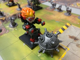A miniature from Mechs Vs. Minions