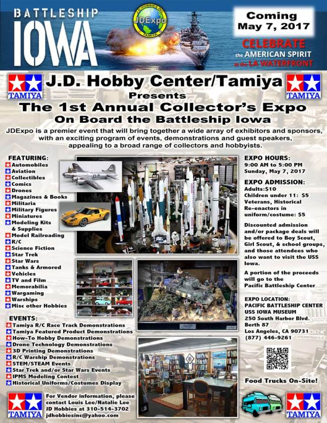 Flyer for the 1st Annual Collectors Expo