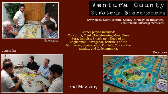 VCSB 2nd May 2017