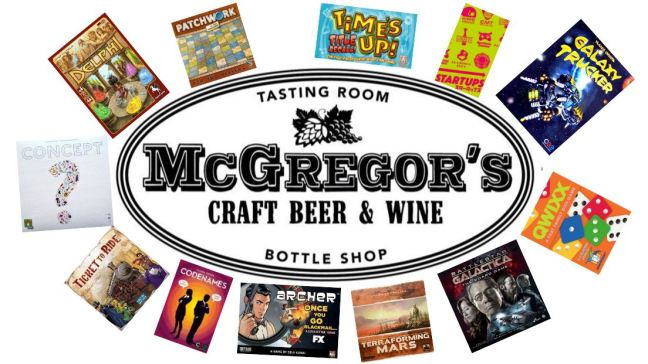 Board games and Beer at McGregors in Moorpark