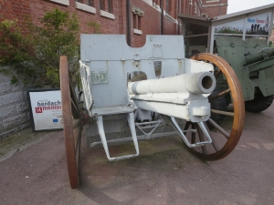 German 77mm Howitzer in Albert