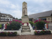 French village memorial at Longueval