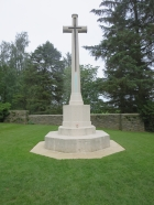 The High Cross at Y Ravine Cemetery