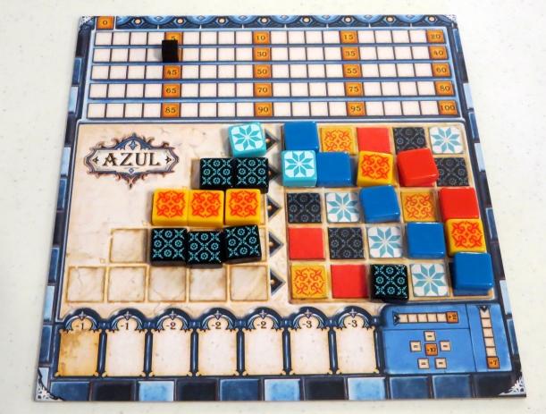 The visually striking Azul