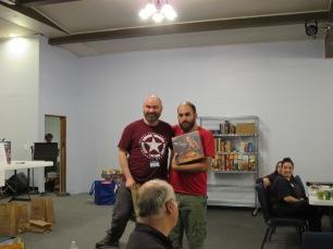 Kyle won Spartacus