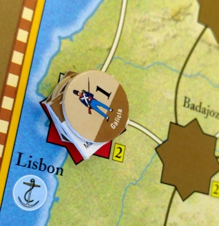 Lisbon has fallen to the Spanish in Napoleonic Wars