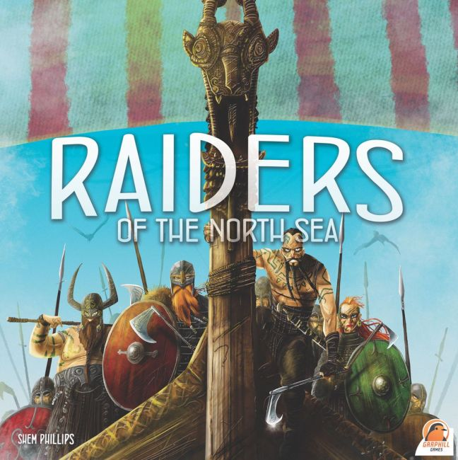 Raiders Of The North Sea box