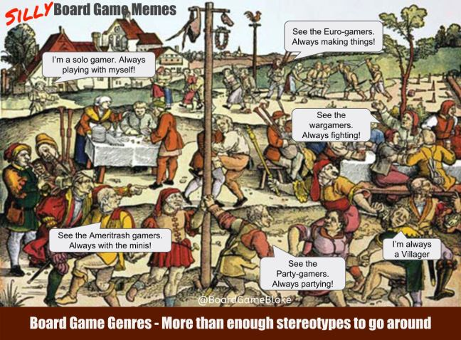 Board game genres and stereotypes