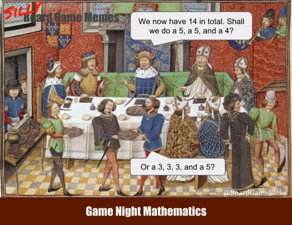 Game night mathematics