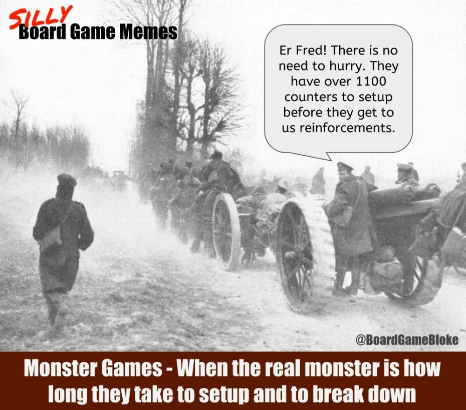Monster wargames
