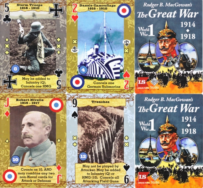The Great War card game
