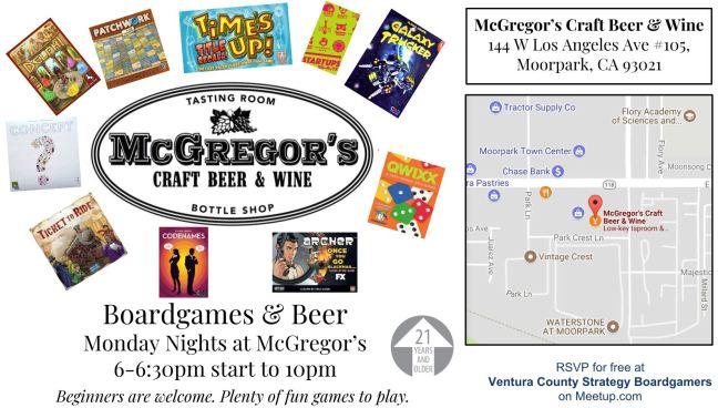 McGregors 6-630-10 Monday
