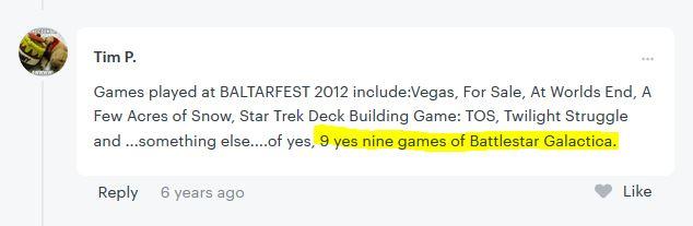 Baltarfest 2012 comment
